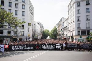 protesta per Clément Méric